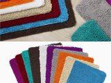 Bath Rugs 60 Long Memory Foam High Pile Shag Rug 24 X 60 Bathroom Mat Long Non