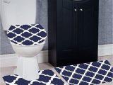 Bath Rugs and toilet Seat Covers Wpm 3 Piece Bath Rug Set Diamond Pattern Bathroom Rug 50cmx80cm Contour Mat 50cmx50cm with Lid Cover Purple
