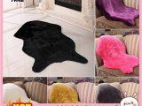 Bath Rugs On Sale Near Me Jual Rc Fluffy Faux Fur Geometric sofa Carpet Rug Floor Mat Living Room Kota Semarang Bbakoeljam