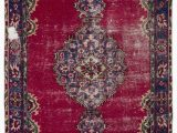 """Bath Rugs On Sale Near Me Turkish Vintage area Rug 5 8"""" X 8 11"""" 68 In X 107 In"""