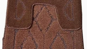 Bath Rugs with Latex Backing Amazon Reflection Madison Home 2pc Bath Rug Set Skid