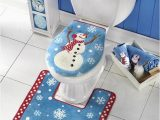 Bathroom Rug Sets with Elongated Lid Cover Amazon Bathroom toilet Seat Cover and Rug Set Multi