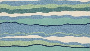 Beach themed area Rugs 8×10 Kas Harbor 4216 Ocean Lagoon area Rug