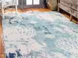 Bed Bath and Beyond area Rugs 9×12 Amazon Com Unique Loom Positano Collection Coastal Modern