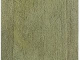 Bed Bath and Beyond Green Bathroom Rugs solid Color Sage Green Cotton Reversible Absorbent Bath Rug