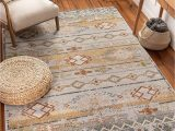 """Bed Bath and Beyond Small area Rugs Well Woven Elu Cream Vintage Panel Pattern area Rug 5×7 5 3"""" X 7 3"""""""