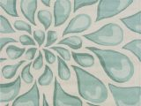 Beige and Aqua area Rugs Stella Collection Hand Tufted area Rug In Beige & Light Aqua
