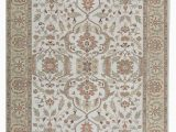 """Beige and Gold area Rugs E Of A Kind Amar Hand Knotted Beige Gold 9 X 11 9"""" Wool area Rug"""