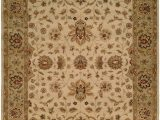 Beige and Gold area Rugs oriental Hand Knotted Wool Beige Gold area Rug