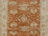 Beige and Rust area Rug Regal Old Urban
