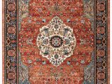 Best area Rug Material for Dogs Spice Market Petra Blue Red