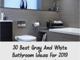 Best Bathroom Rugs 2019 30 Best Gray and White Bathroom Ideas for 2019 Re Ended