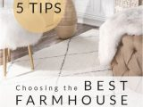 Best Material for Living Room area Rug Choosing the Best Farmhouse area Rug for Your Space