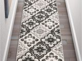 Best Type Of Rug for High Traffic area Amazon Well Woven Bodrum Grey Indoor Outdoor Floral