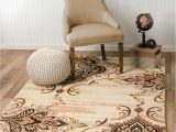Better Homes and Gardens area Rug 5×7 area Rug Smt 31 Beige and Brown soft Pile Size Options 2×3 3×5 5×7 8×11