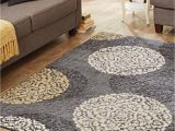 Better Homes and Gardens Overlapping Medallion area Rug Better Homes & Gardens Overlapping Medallions Print area Rug