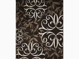 Better Homes and Gardens Shaded Lines area Rug Better Homes and Gardens Iron Fleur area Rug 9' X 13' Brown