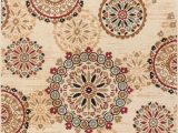 Better Homes Gardens Suzani Indoor area Rug Rosy Suzani Ivory Multi Red Green oriental Floral Geometric Modern Casual area Rug Easy Clean Stain Fade Resistant Shed Free Contemporary formal