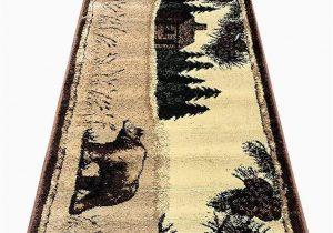 Big Lots area Rugs Indoor Carpet Cabin Style Runner area Rug Big Black Bear Rugs