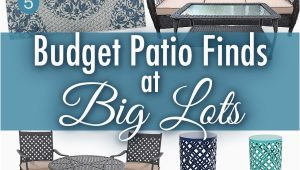 Big Lots Outdoor area Rugs Refresh Your Patio with these Big Lots Backyard Bud Finds