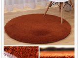 Big Round Bathroom Rugs Round Berber Fleece Bathroom Carpet sofa Mat Floor Rug Non Slip Bath Mat Floor Carpet for Puter Chair Big Size Door Pads Mats