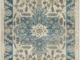 Birch Lane Rugs Blue Jaiden Cream Blue oriental area Rug