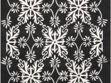 Black and Off White area Rugs Amazon Git Mit Home area Rugs 5 X 8 Black F White