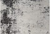 Black and Off White area Rugs Bohl F White area Rug