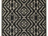 Black and Off White area Rugs Tayler Black F White Rug In 2020