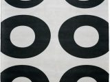 Black and White Round area Rugs Black and White Rug Modernrugs