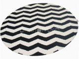 Black and White Round area Rugs We Rugs Sale Black White Rug Handmade Round Geometric Kilim