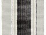Black and White Striped area Rug 8×10 Gunner Striped Handmade Flatweave Cotton Gray Black area Rug