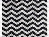 Black and White Striped area Rug 8×10 Madisons Black and White Cowhide Patchwork Rug Chevron Pattern 6×9