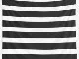 Black and White Striped Bath Rug Thick Black and White Striped Bath Mat