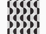 Black and White Woven area Rug Black White Geometric Circles area Rug