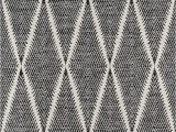 """Black and White Woven area Rug Erin Gates by Momeni River Beacon Black Hand Woven Indoor Outdoor area Rug 5 X 7 6"""""""