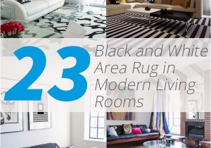 Black area Rugs for Living Room 23 Modern Living Rooms Adorned with Black and White area