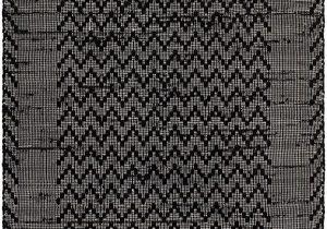 Black area Rugs for Living Room Fab Habitat Reversible Cotton area Rugs Rugs for Living Room Bathroom Rug Kitchen Rug Allure Black & Cream
