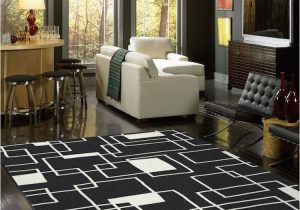 Black area Rugs for Living Room Milliken Contemporary Geometric Black and area Rug
