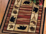Black forest Decor area Rugs Camp Wild Rug 8 X 10 with Images Black forest Decor