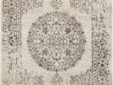 Black Friday area Rugs 2019 Mora Ivory Traditional Vintage Persian Distressed Rug