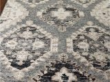 Black Gray and Tan area Rugs Cayenne Rug 4 X 6