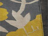 Black Grey and Yellow area Rug Gray Yellow area Rug