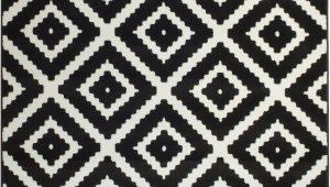 Black White area Rugs 8×10 Leana Black Indoor area Rug Joss & Main