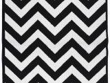 Black White Striped area Rug Garland Rug Cheveron Black White 5 X7 Indoor area Rug Walmart