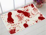 Blood Rug for Bathroom Creative Blood Bath Mat 40 60 Cm Bathroom Water Slippery