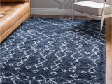 Blue 8 X 10 Rug Navy Blue 8 X 10 Marrakesh Shag Rug