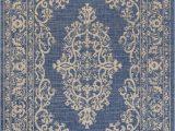 Blue 8×10 Outdoor Rug Galon Filigree Indoor Outdoor Blue Beige 4 X 6 area Rug