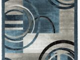 Blue and Brown area Rug Walmart Newport Collection Blue Gray Abstract Modern area Rug Walmart