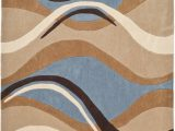 Blue and Brown Living Room Rugs Safavieh Modern Art Mda617a Blue Brown area Rug Last Chance